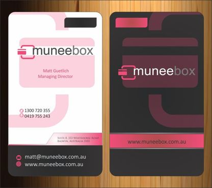 Fun modern design for new quirky company Business Cards and Stationery  Draft # 136 by Imagination