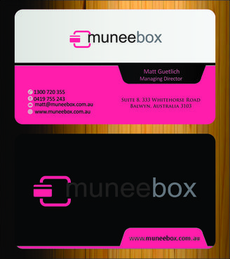 Fun modern design for new quirky company Business Cards and Stationery  Draft # 137 by Imagination
