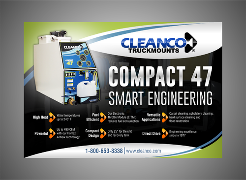 Cleanco Truckmounts Marketing collateral  Draft # 27 by Kaiza