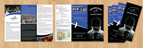 Golden Gate Fencing Center Marketing collateral  Draft # 9 by gugunte