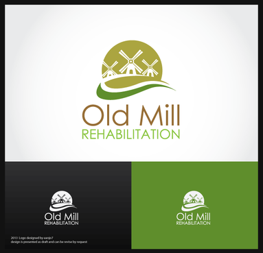 Old Mill Rehabilitation A Logo, Monogram, or Icon  Draft # 74 by eanjo7
