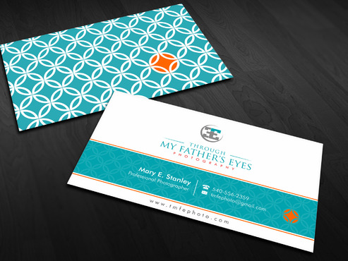 Through My Father's Eyes Photography Business Cards and Stationery  Draft # 166 by Xpert