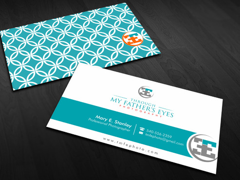 Through My Father's Eyes Photography Business Cards and Stationery  Draft # 167 by Xpert