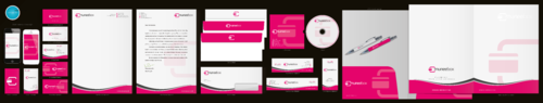 Fun modern design for new quirky company Business Cards and Stationery  Draft # 181 by aheadpoint