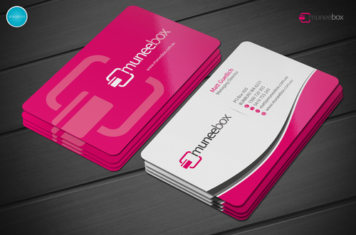 Fun modern design for new quirky company Business Cards and Stationery  Draft # 197 by aheadpoint
