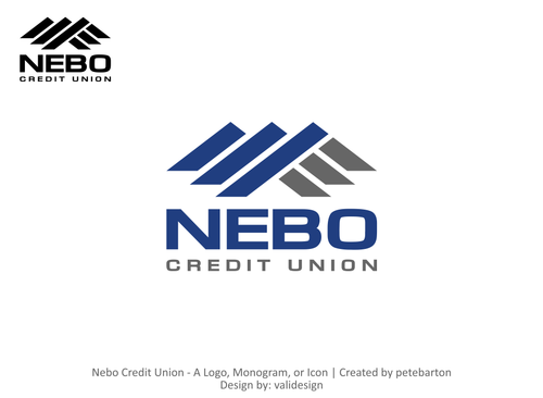 Nebo Credit Union -or- Nebo CU A Logo, Monogram, or Icon  Draft # 130 by validesign