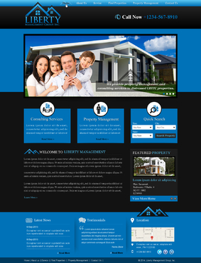 Liberty Management Group, Inc. Complete Web Design Solution  Draft # 3 by makeglow
