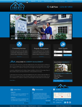 Liberty Management Group, Inc. Complete Web Design Solution  Draft # 5 by makeglow