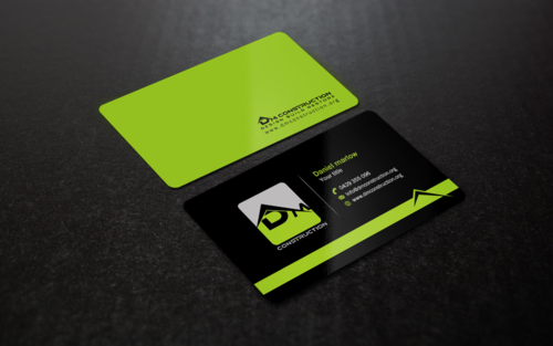Dm construction Business Cards and Stationery Winning Design by einsanimation