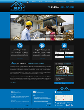 Liberty Management Group, Inc. Complete Web Design Solution  Draft # 30 by makeglow