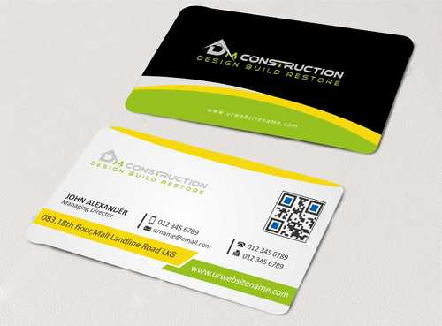 Dm construction Business Cards and Stationery  Draft # 115 by DesignBlast