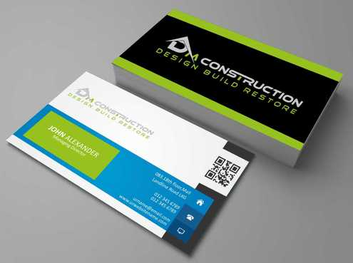 Dm construction Business Cards and Stationery  Draft # 126 by DesignBlast