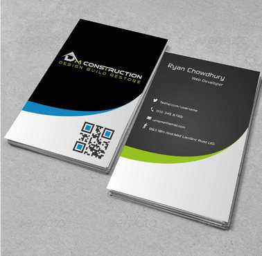 Dm construction Business Cards and Stationery  Draft # 129 by DesignBlast