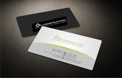 Dm construction Business Cards and Stationery  Draft # 178 by Dawson