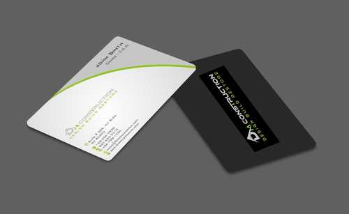 Dm construction Business Cards and Stationery  Draft # 181 by Dawson