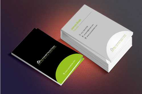Dm construction Business Cards and Stationery  Draft # 183 by Dawson