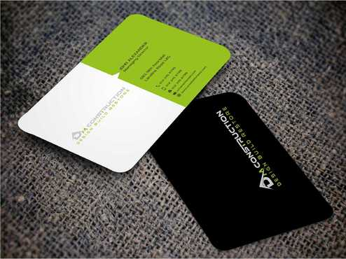 Dm construction Business Cards and Stationery  Draft # 191 by Dawson