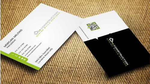 Dm construction Business Cards and Stationery  Draft # 193 by Dawson