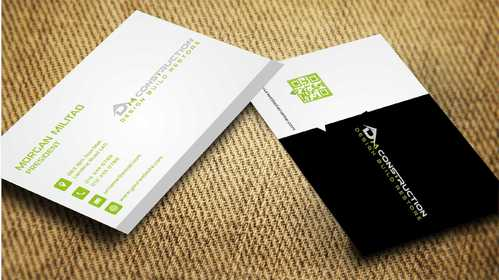 Dm construction Business Cards and Stationery  Draft # 194 by Dawson
