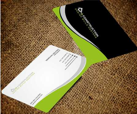 Dm construction Business Cards and Stationery  Draft # 198 by Dawson