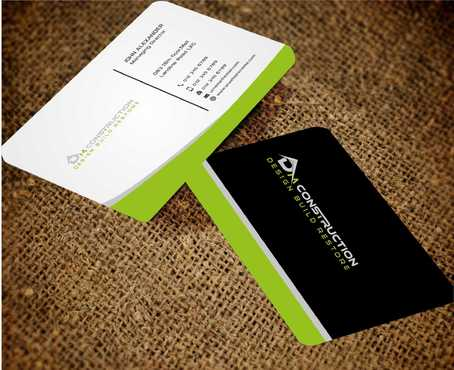 Dm construction Business Cards and Stationery  Draft # 201 by Dawson
