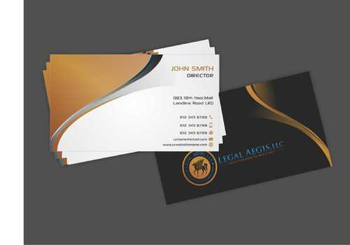 Business Card for Legal Aegis Business Cards and Stationery  Draft # 199 by Dawson