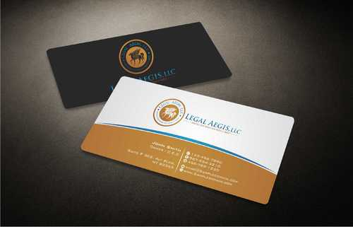 Business Card for Legal Aegis Business Cards and Stationery  Draft # 202 by Dawson