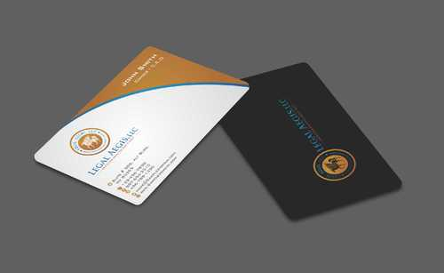 Business Card for Legal Aegis Business Cards and Stationery  Draft # 204 by Dawson