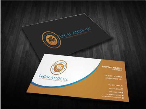 Business Card for Legal Aegis Business Cards and Stationery  Draft # 210 by Dawson