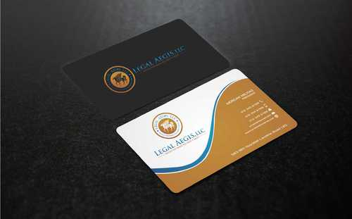 Business Card for Legal Aegis Business Cards and Stationery  Draft # 212 by Dawson