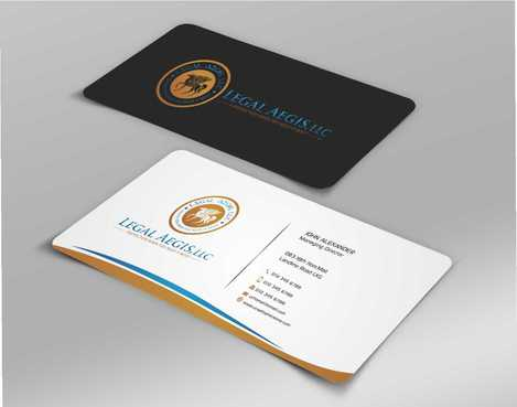 Business Card for Legal Aegis Business Cards and Stationery  Draft # 214 by Dawson
