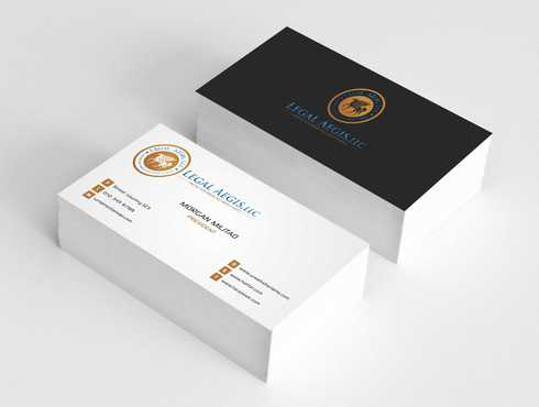 Business Card for Legal Aegis Business Cards and Stationery  Draft # 215 by Dawson