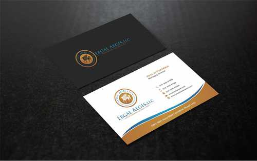 Business Card for Legal Aegis Business Cards and Stationery  Draft # 218 by Dawson