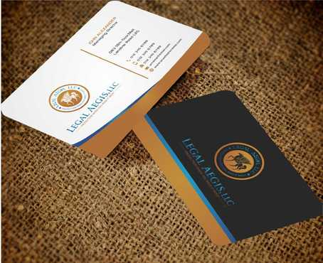Business Card for Legal Aegis Business Cards and Stationery  Draft # 220 by Dawson