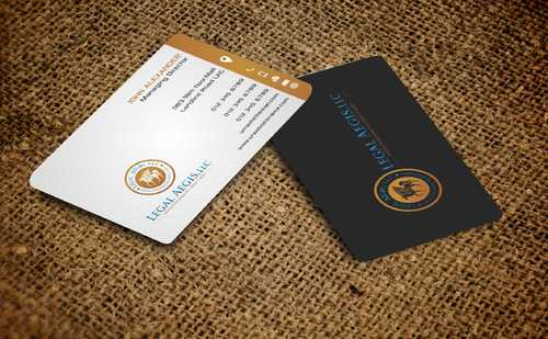 Business Card for Legal Aegis Business Cards and Stationery  Draft # 222 by Dawson