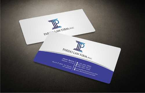 Pardo Law Firm Business Cards and Stationery  Draft # 180 by Dawson