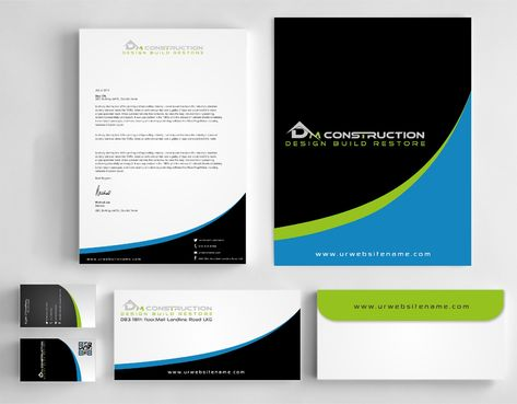Dm construction Business Cards and Stationery  Draft # 271 by DesignBlast
