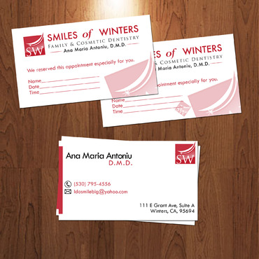Smiles of Winters Business Cards and Stationery  Draft # 84 by vvcreative