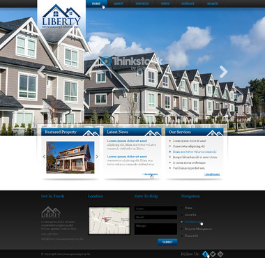 Liberty Management Group, Inc. Complete Web Design Solution  Draft # 71 by prismitsolutions