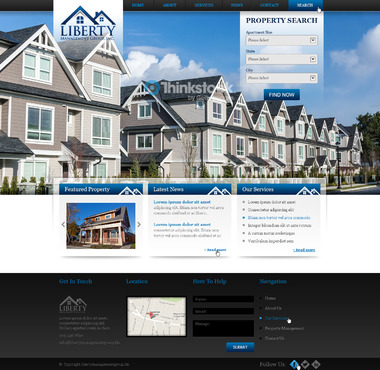 Liberty Management Group, Inc. Complete Web Design Solution  Draft # 72 by prismitsolutions