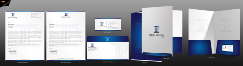 Pardo Law Firm Business Cards and Stationery  Draft # 283 by einsanimation