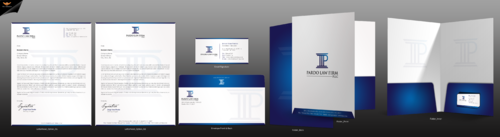 Pardo Law Firm Business Cards and Stationery  Draft # 284 by einsanimation
