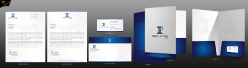Pardo Law Firm Business Cards and Stationery Winning Design by einsanimation