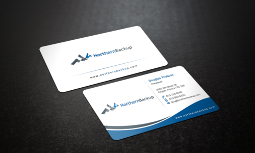 Northern Backup Inc. Business Cards and Stationery Winning Design by einsanimation