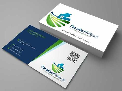 Canadian Wetlands Inc  eco system management Business Cards and Stationery  Draft # 99 by DesignBlast