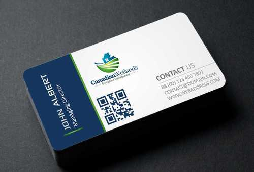 Canadian Wetlands Inc  eco system management Business Cards and Stationery  Draft # 101 by DesignBlast