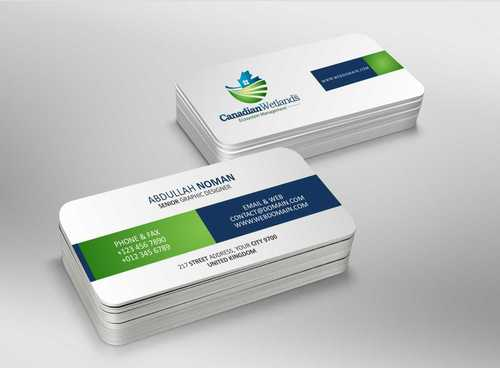 Canadian Wetlands Inc  eco system management Business Cards and Stationery  Draft # 102 by DesignBlast