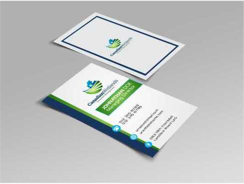 Canadian Wetlands Inc  eco system management Business Cards and Stationery  Draft # 106 by DesignBlast