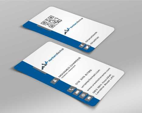 Northern Backup Inc. Business Cards and Stationery  Draft # 63 by DesignBlast