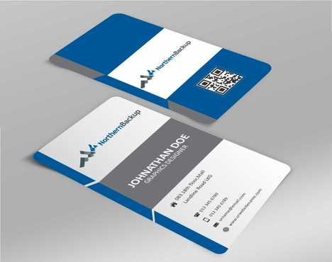 Northern Backup Inc. Business Cards and Stationery  Draft # 68 by DesignBlast